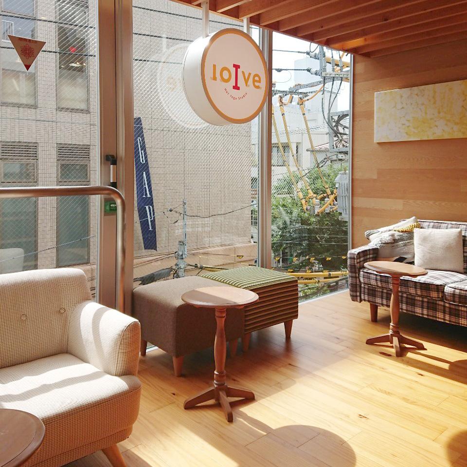ロイブはカフェのような内装のスタジオ